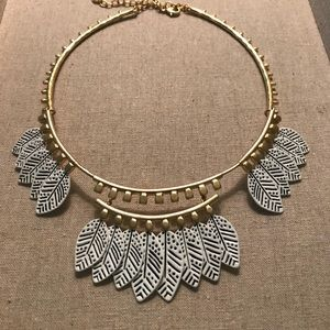 Gold reversible necklace